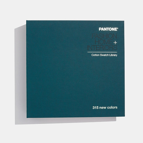 PANTONE FASHION, HOME + INTERIORS COTTON SWATCH LIBRARY SUPPLEMENT-TCX
