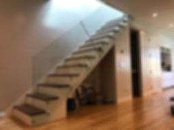 Staircase Glass Railings