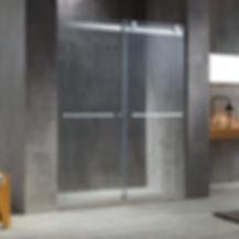 Element Frameless Bypass Sliding Doors