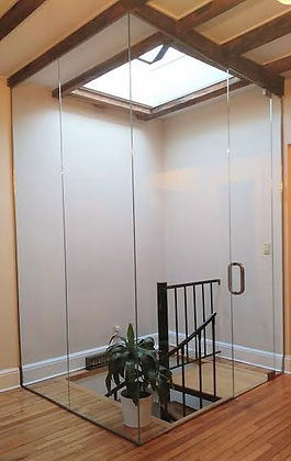 Glass Staircase Enclosure