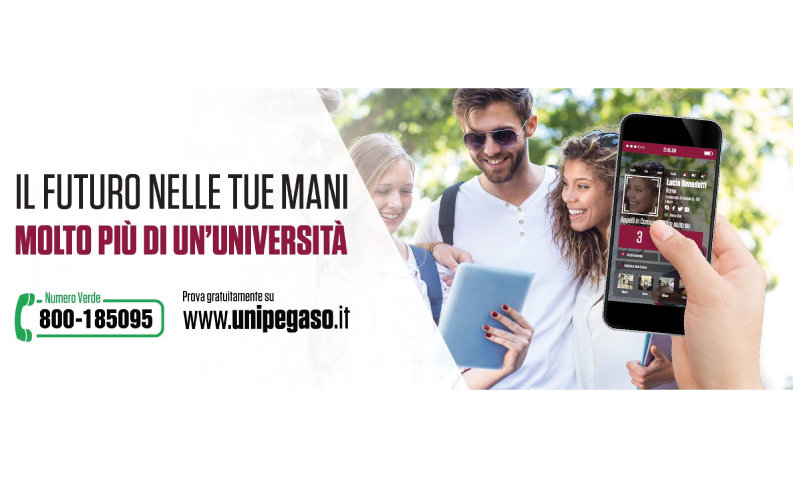 università telematica pegaso marketing grafica logo web