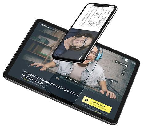 iphone-tablet-microeconomia-macroeconomia-video-lezioni-economia-politica-diritto-privato-economia-giurisprudenza