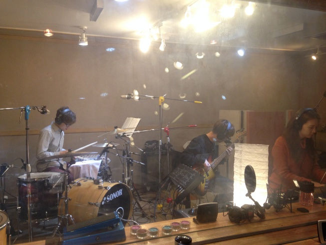 밴드 녹음
