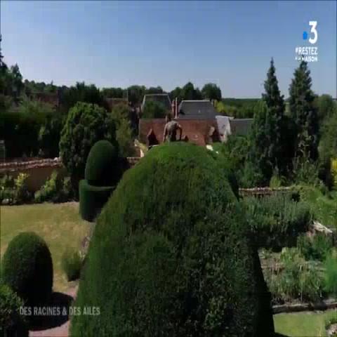 Le jardin des ifs à gerberoy