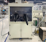 Glove box for solution processing