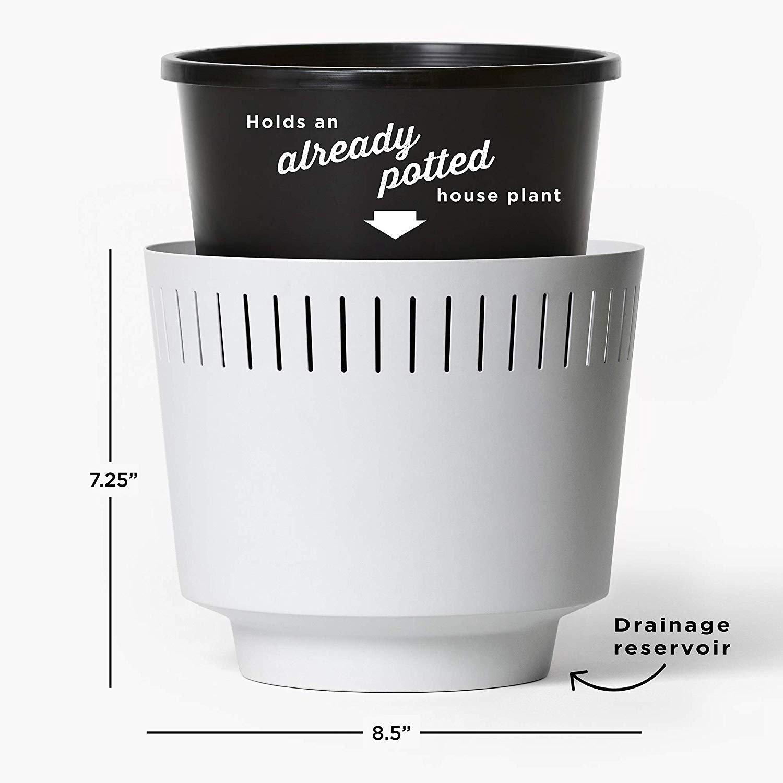 Modnlovr Mid Century Modern Planter Pot Indoor With Drainage