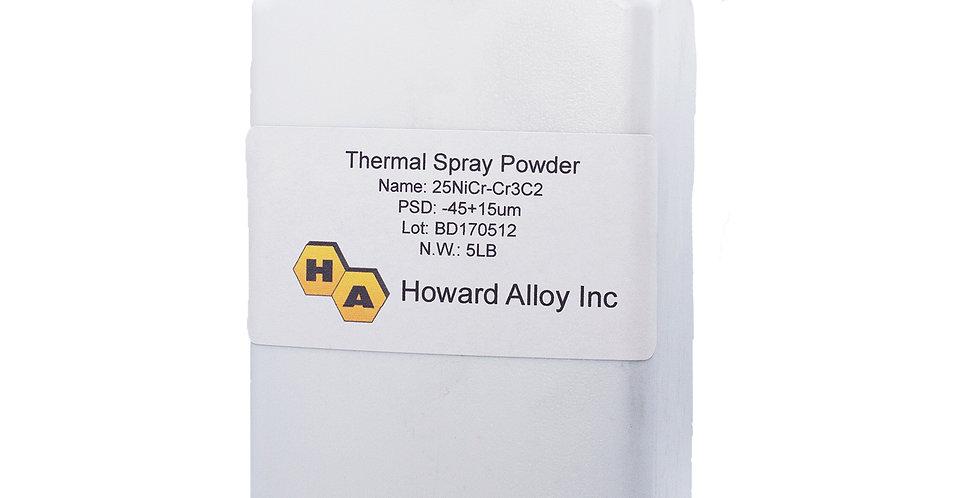 HVOF Nickle Chrome - Chrome Carbide Powder  5lbs Per Bottle