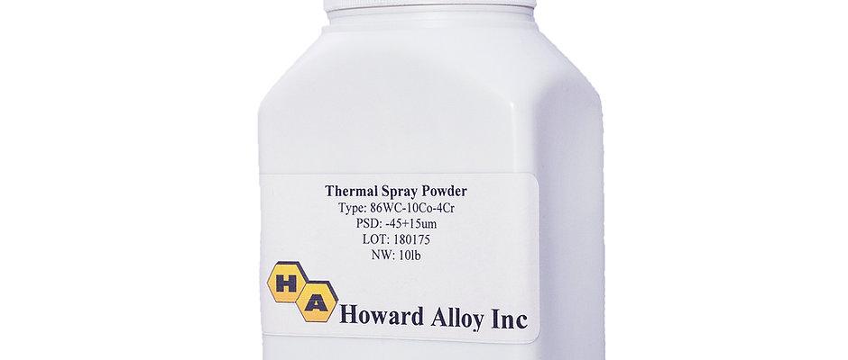 HVOF Tungsten Carbide Cobalt Chrome Powder 10lbs per Bottle