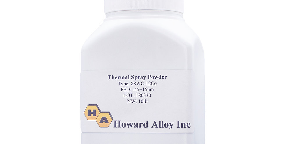 HVOF Tungsten Carbide Cobalt Powder 10lb per bottle