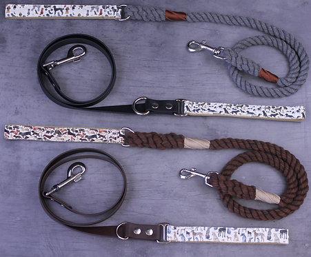 Bio-Canvas x Cotton Rope Lead