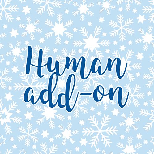 Human Christmas Box Add-on