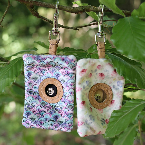 Two Dogs Co Velvet Poo Bag Pouches