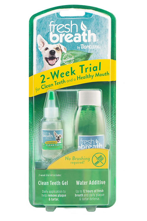 TropiClean Oral Care Trial Pack