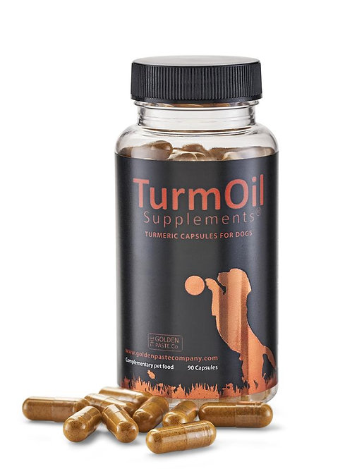 The Golden Paste Co. Turmeric Capsules