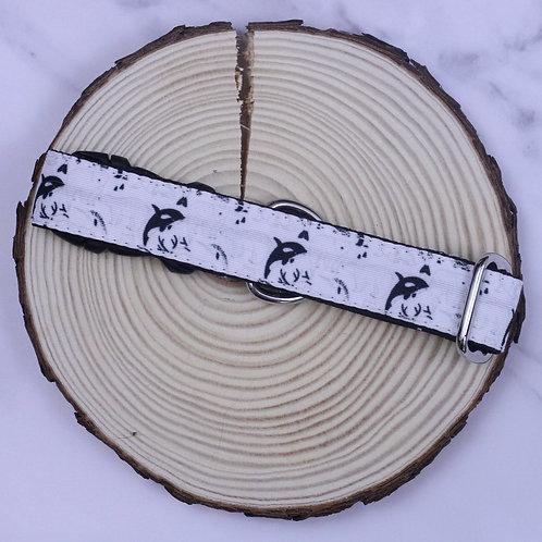 Monochrome Arctic Animals Bio-Canvas Collar