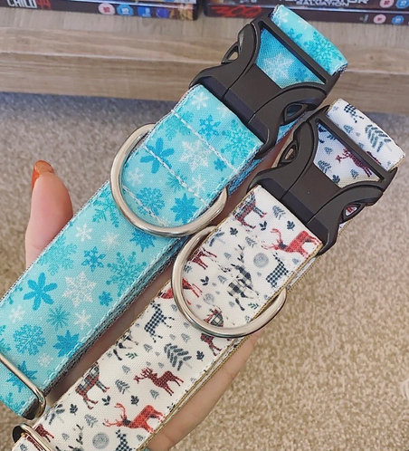 Eco Canvas Winter Collars