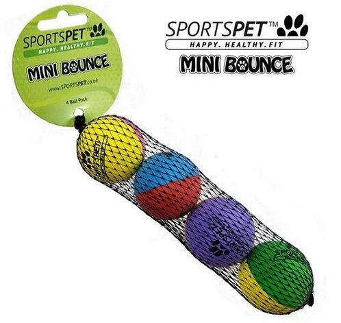 Sportspet Mini High Bounce Balls