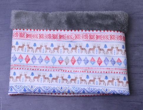 Reindeer Fair Isle Cosy Snood