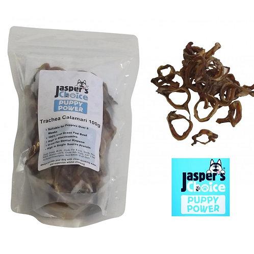 Jasper's Choice Puppy Power Trachea Calamari
