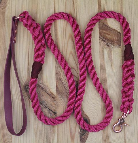 Weatherproof Twisted Rope Lead
