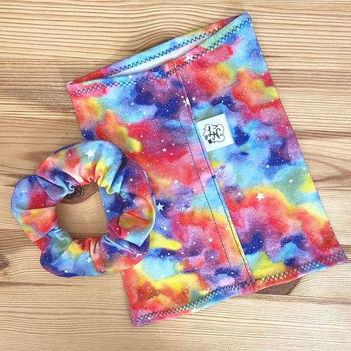 LN Designs Rainbow Scrunchies