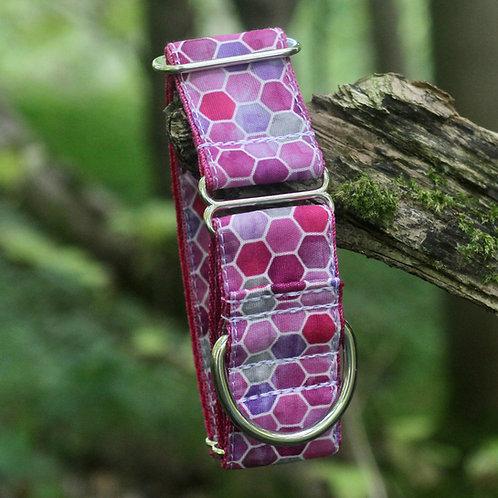 Pink Hex Bio-Canvas Collar