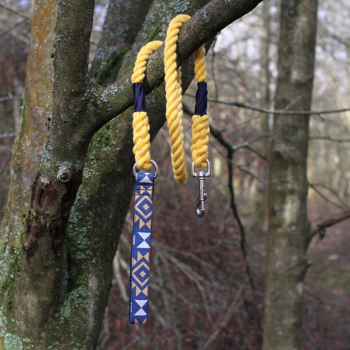 Eco Canvas x Rope Leads