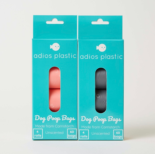 Adios Plastic Compostable Poo Bags