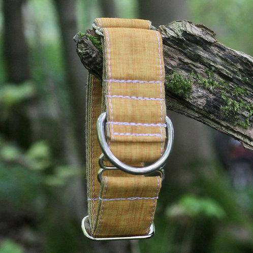 Mustard Linen Bio-Canvas Collar