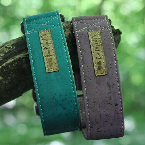 Two Dogs Co Cork Martingale Collars