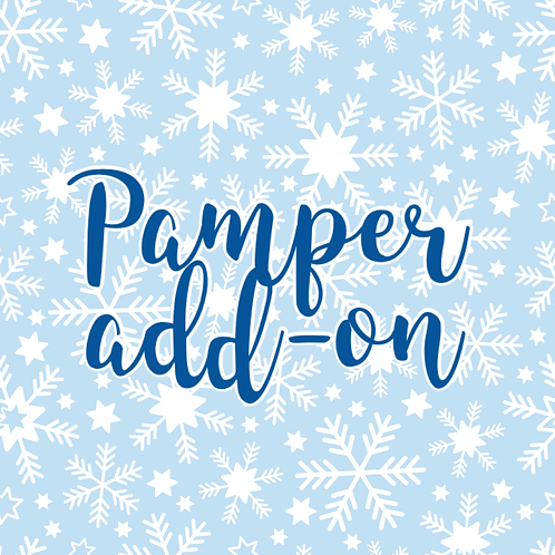 Pamper Pack Christmas Box Add-on