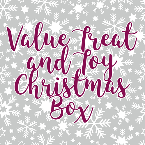 Value Treat & Toy Christmas Box