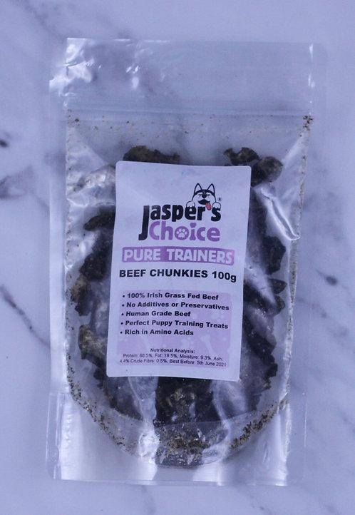 Jasper's Choice Pure Trainers Beef Chunks