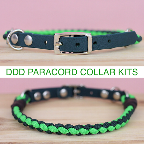 Rope Style Paracord Collar Making Kit