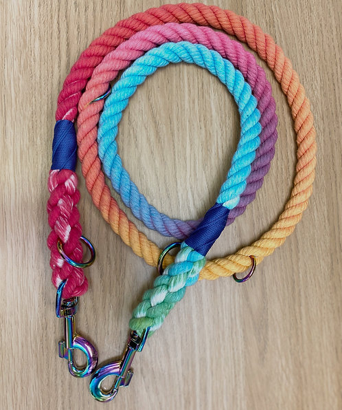 Rainbow Rope Leads