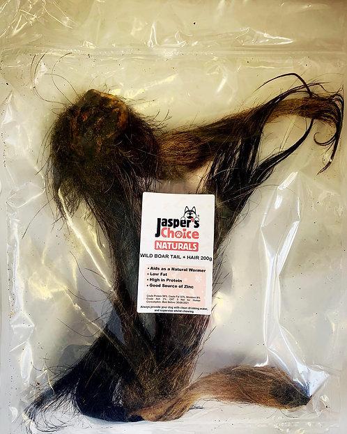Jasper's Choice Wild Boar Tail with Hair