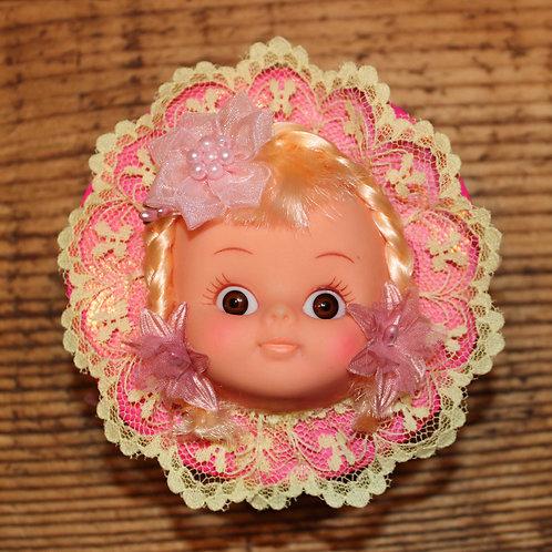 Doll Head Box - Pink