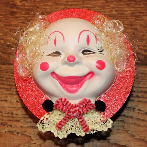 Clown Head Box - Red, Black & Yellow
