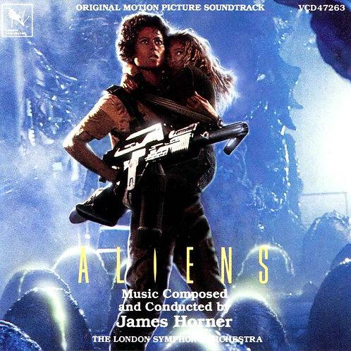Aliens CD Soundtrack 1986 (Used)