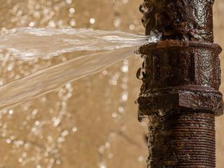 La deshidratación de un edificio