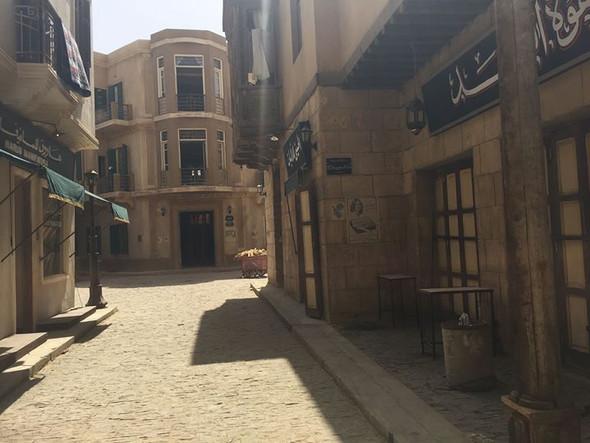 ديكور مسلسل #حاره_اليهود