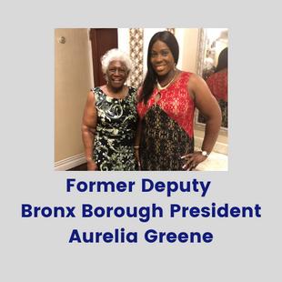Former Deputy Bronx Borough President Aurelia Greene