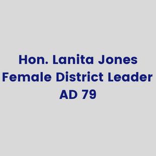 Hon.Lanita Jones, Female District Leade