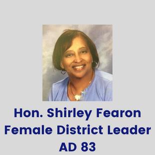 Hon. Shirley Fearon,Female District Lea