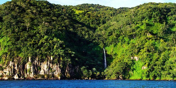 The entirety of Cocos Island has been designated a Costa Rican National Park and has no permanent inhabitants
