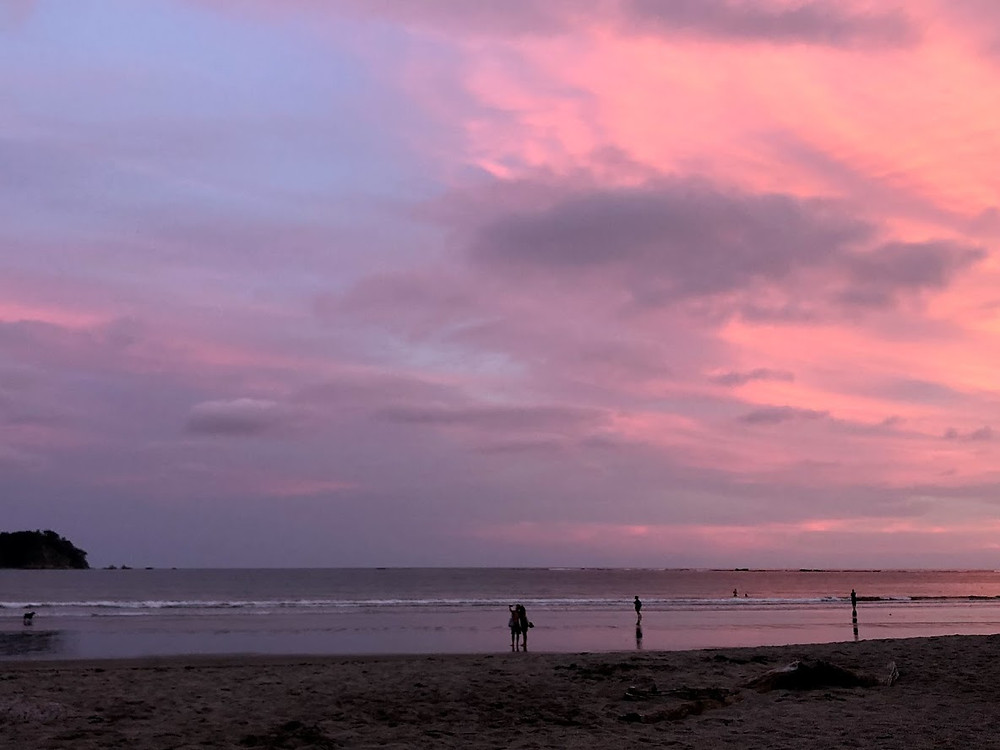 Sunset at Samara Beach, Guanacaste