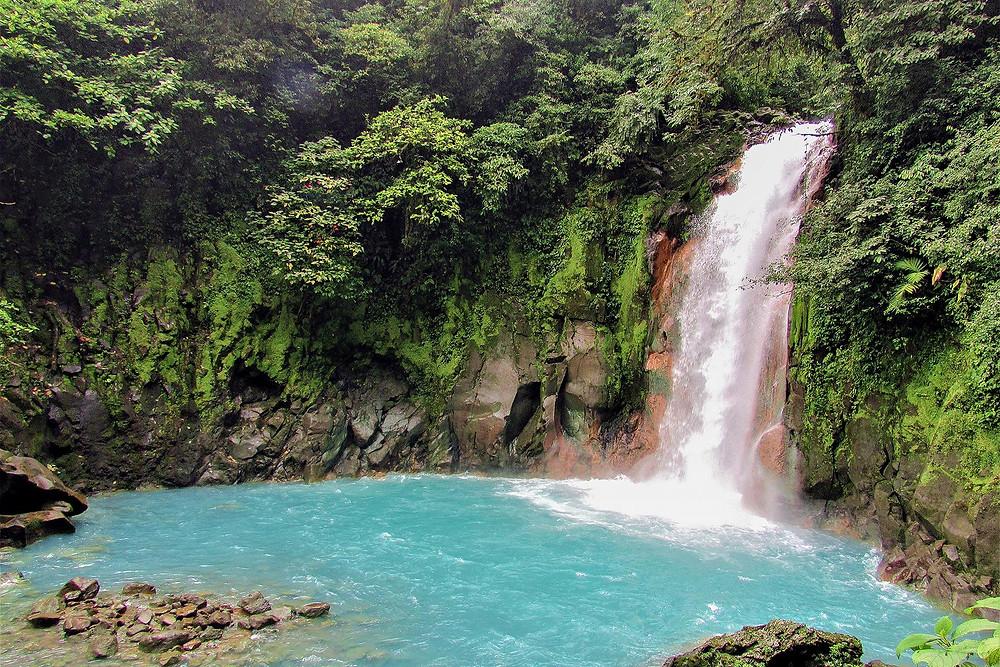 Rio Celeste waterfall, Tamarindo, Costa Rica