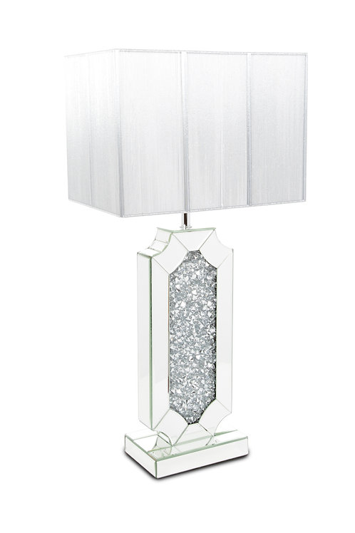 Crushed Glass Table Lamp