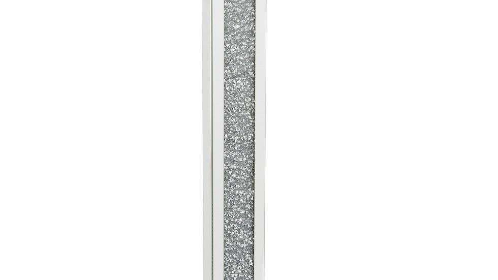 Crushed Glass Mirrored Floor Lamp