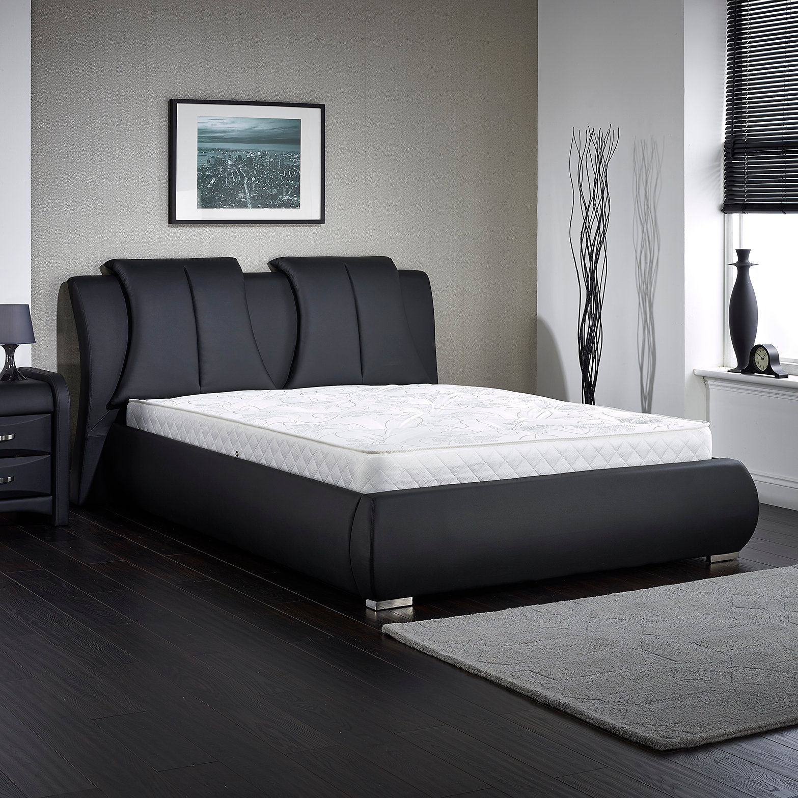 Ultra modern double beds - The Azuri Bed